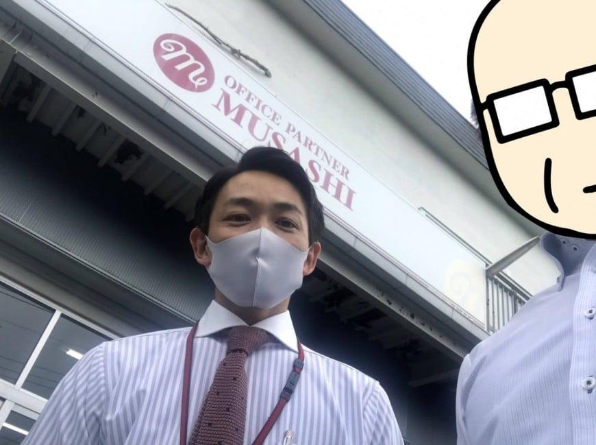 謎の新人スタッフTKがムサシ八王子本社にある倉庫の中を探検してみた! –その1–