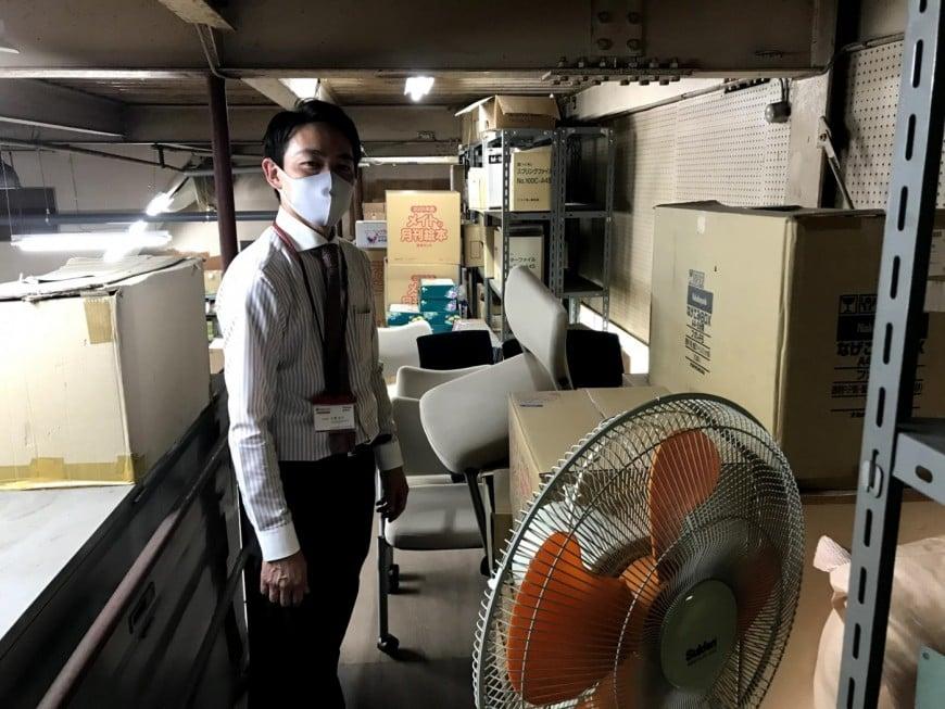 謎の新人スタッフTKがムサシ八王子本社にある倉庫の中を探検してみた! –その3・最終回–